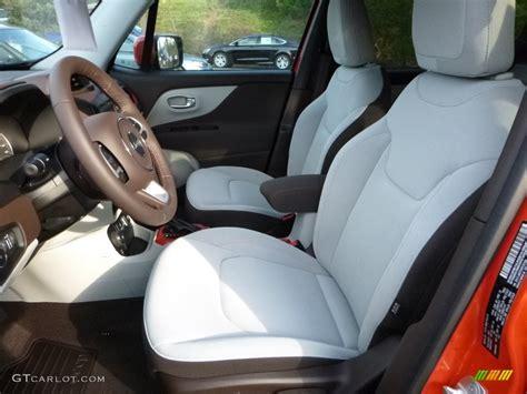 jeep renegade grey interior bark brown ski grey interior 2016 jeep renegade latitude