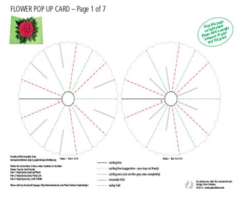 Flower Pop Up Card Templates by 20 Flower Petal Templates Pdf Vector Eps Free