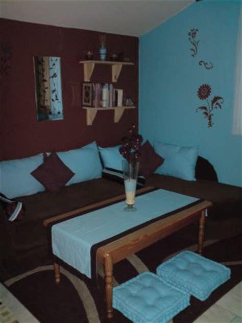 chambre avec coin salon chambre avec coin salon turquoise et marron d co