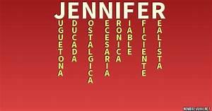 Que significa jennifer Qué significa mi nombre