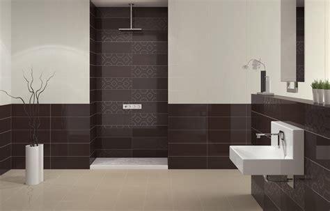 carrelage salle de bain marron
