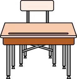 Student School Desk Clip Art