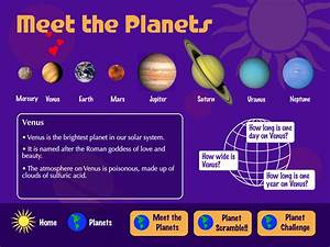 T Michels Design » Our Solar System For Kids – Flash ...