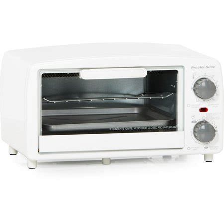 White Digital Toaster Oven by Proctor Silex Toaster Oven And Broiler White Walmart
