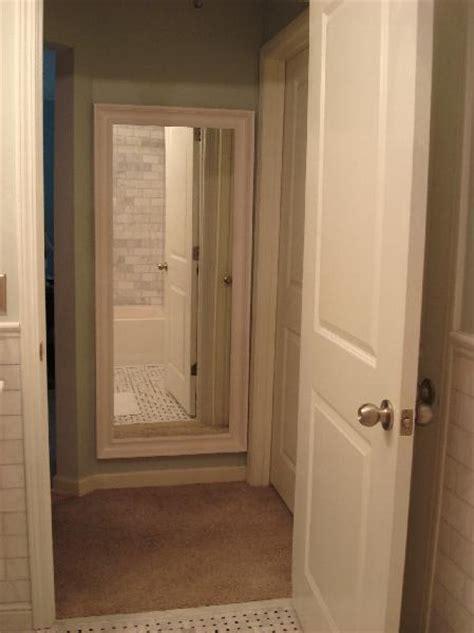 ikea floor mirror transitional bathroom benjamin