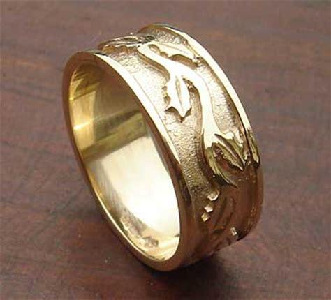 scottish thistle wedding ring lovehave   uk