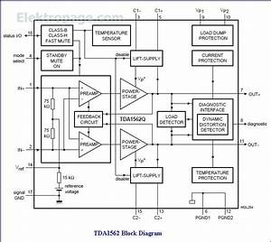Tda1562 Ic Pinout Diagram