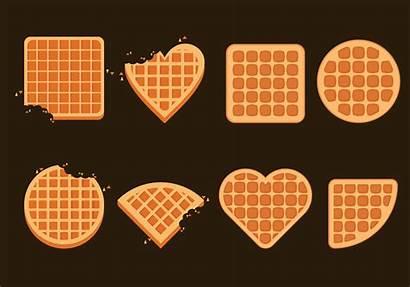 Waffles Vector Illustration Belgium Clipart Vecteezy Graphics