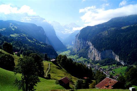 Free photo: Swiss Alps Mountain View - Nature, Winter ...