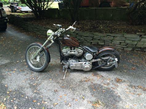 1959 Harley Davidson Panhead Chopper Bobber