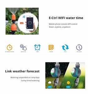 Tuya Wifi Smart Irrigation Electrical Watering Automatic