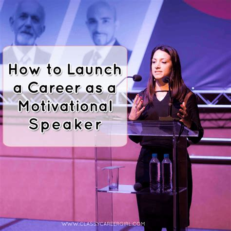 How to Launch a Career as a Motivational Speaker