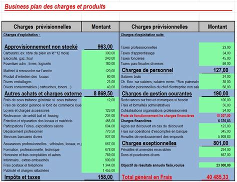modèle plan d excel modele budget previsionnel excel association document