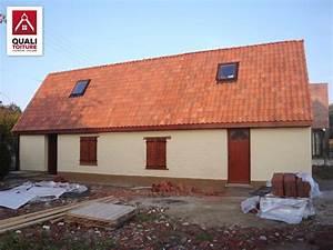 Toiture Metallique Pour Maison : toiture de maison finest maison tage avec garage en ~ Premium-room.com Idées de Décoration