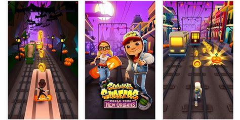 Subway Surfers Halloween Update by Subway Surfers Adds A New Halloween Based Theme Set In New