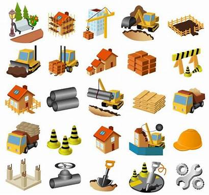 Construction Clip Materials Icon Articons Material Building