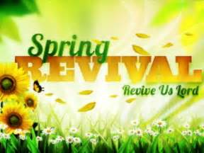 Spring Church Revival Clip Art