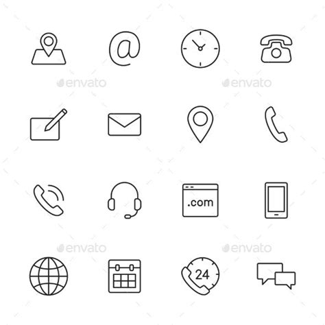17 best ideas about website icons on icon set