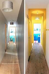 decoration couloir 25 idees geniales a decouvrir With quelle couleur pour un couloir 1 renovation dun appartement