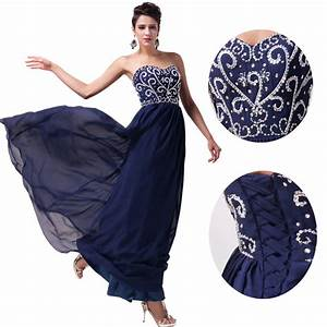 women long chiffon formal evening party ball gown prom With formal wedding dresses for women