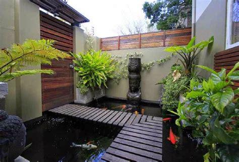 design rumah idaman perindah rumah  taman  kolam