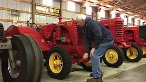 New Year's Day Massey-Harris Tractor Start-up - YouTube