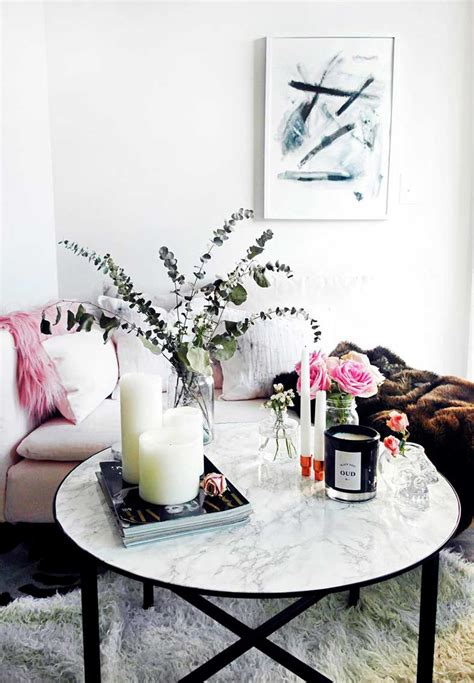 Decorate your coffee table with style. 18 White Marble Coffee Tables We Love