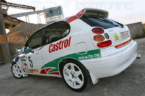Toyota Corolla E11 Wrc Rear Wing Spoiler, Roof Spoiler