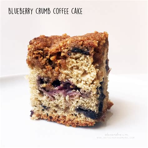 To begin, make the streusel topping by combining the brown sugar, flour, cinnamon, and salt in a small bowl. art scrap & more: a Recipe: Blueberry Crumb Coffee Cake