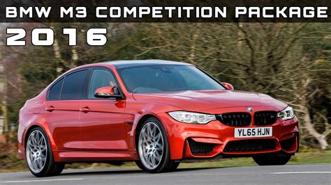 2016 Bmw M3 Competition Package Review Rendered Price