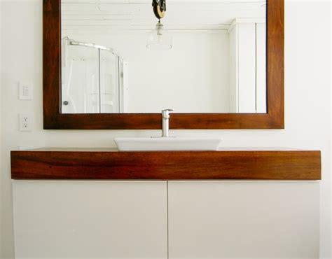 un meuble de salle de bain unique avec l aide d ikea