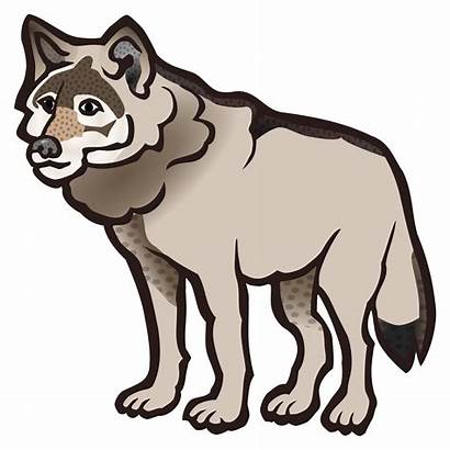Wolf Clipart Wolves Clip Howling Transparent Drawing