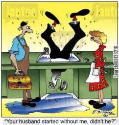 leaky kitchen faucet repair house repair humor from jantoo