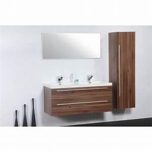 ensemble meuble salle de bain double vasque pas cher With meuble ensemble salle de bain