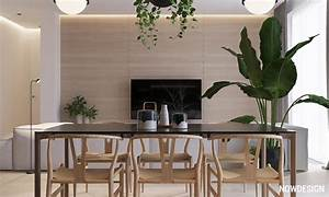 Minimalist, Interior, Design, With, Green, Plant, Accents