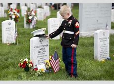 Arlington National Cemetery Memorial Day 2016 America