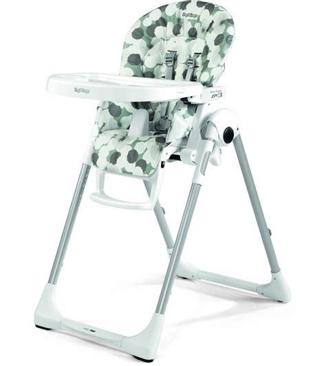 Peg Perego Prima Pappa Zero 3 High Chair  Nuvola Grey
