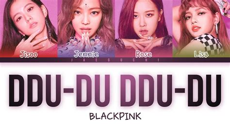 'ddu-du Ddu-du (뚜두뚜두)' Lyrics (color Coded Eng