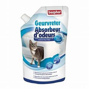 Litiere Chat Sans Odeur : absorbeur d 39 odeurs en poudre beaphar d sodorisant ~ Melissatoandfro.com Idées de Décoration