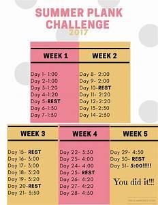 Summer Plank Ch... Plank Challenge