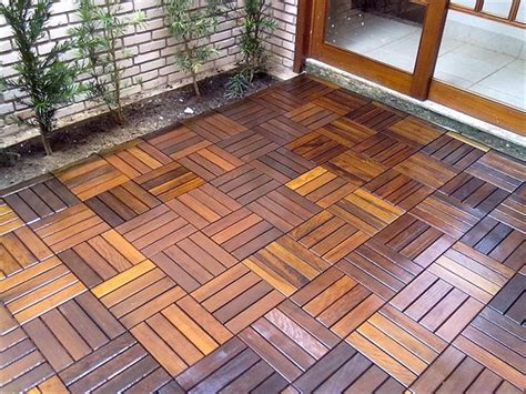 builddirect 174 flexdeck interlocking deck tiles wood