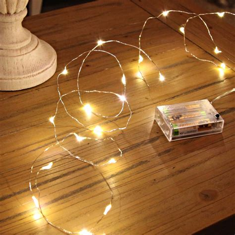 Micro Battery Fairy Lights  Love Unique Home
