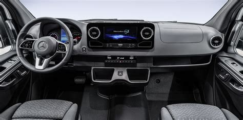 mercedes benz sprinter interior revealed