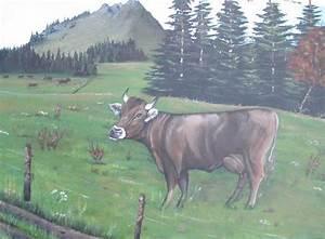 Kuh Bilder Auf Leinwand : bild alp kuh natur suisse von sabine bei kunstnet ~ Whattoseeinmadrid.com Haus und Dekorationen