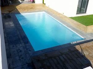 Piscine Coque Pas Cher : piscine coque polyester hors sol semi et enterr e ~ Mglfilm.com Idées de Décoration