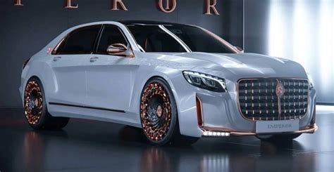 Led Lamps For Bikes by Scaldarsi Emperor I Based On The Mercedes Maybach S600