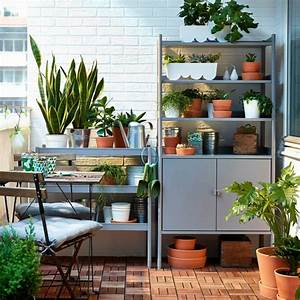 15 pfiffige ikea garten ideen die sie zum umdenken bringen With französischer balkon mit schmiedeeisen regal garten