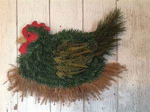 Chicken, Wreath, Order, Your, Artificial, Or, Real, Evergreen, Wreath, Today, S, Facebook, C