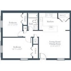 floor plan of two bedroom flat the 2 bedroom flat