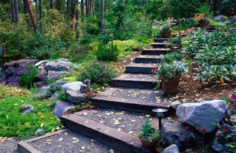 ideas for gardens on a slope slope garden design slope garden design ideas home designs project